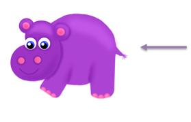Free purple hippos